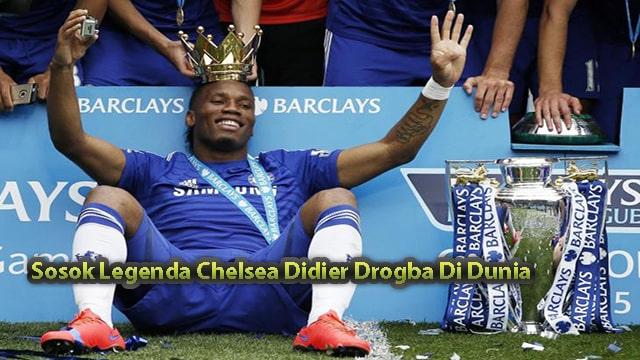 Sosok Legenda Chelsea Didier Drogba Di Dunia Sepakbola